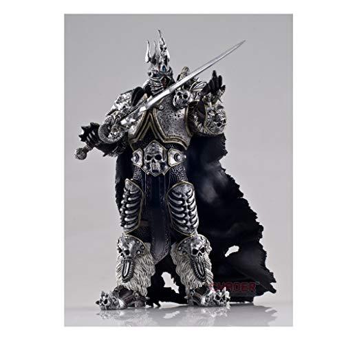 XJRHB World of Warcraft ARTHAS Lichkönig Alsace Spieldekoration bastelt Modellspielzeug