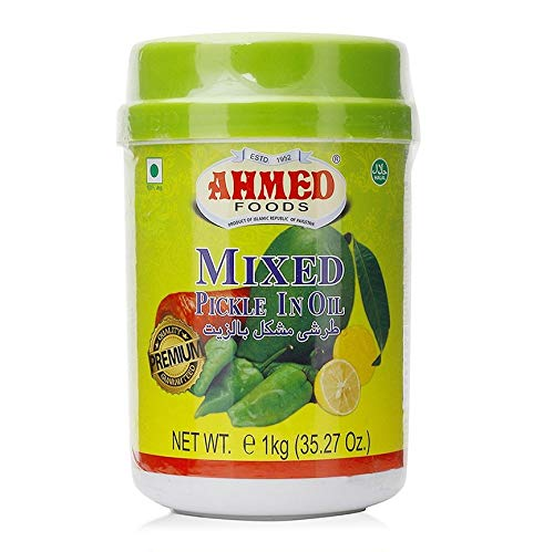Mixed Pickle in Öl Ahmed Foods 1Kg