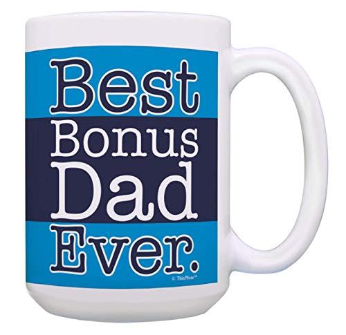 N\A El Mejor padrastro de Todos los Tiempos Taza de té definición Azul Presidente Biden Deja Tazas 2020 día del Padre cumpleaños papás Abuelo tío Halloween otoño