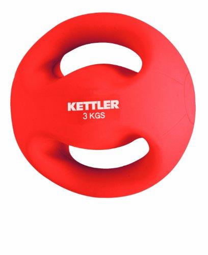 KETTLER - Fitness Ball, Rosso, 3 kg
