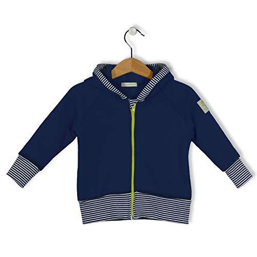 bubble.kid berlin - weicher Warmer Sweatshirt, Zipfelkapuze, Bardo Größe: 86-92 (1-2 Jahre), Farbe: Tinte