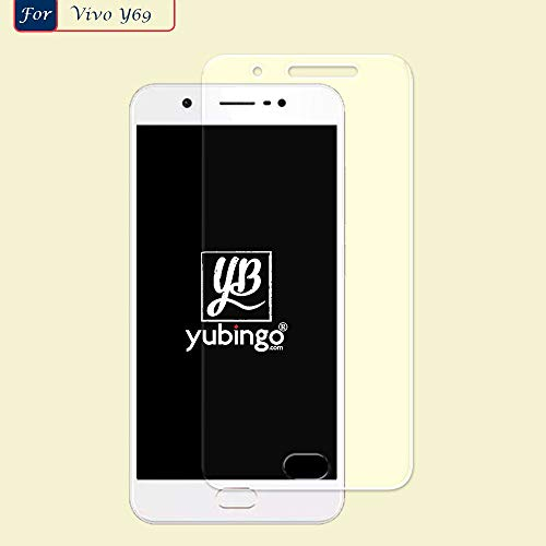 YuBingo Screen Guard for Vivo Y69 (Flexible. Shatter & Scratch Resistant, HD Clarity, Case Friendly)