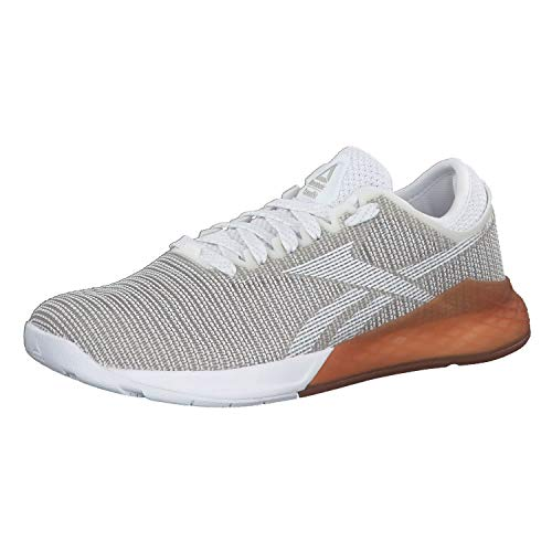 Reebok Crossfit Damen Trainingsschuhe Nano 9.0 White/Skull Grey/Rubber Gum 39