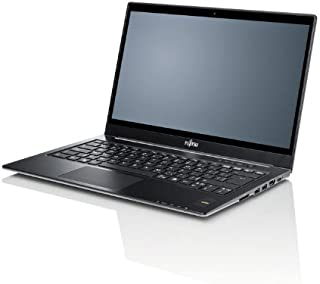 Fujitsu LIFEBOOK U772 - Ordenador portátil (Ultrabook, Negro, Rojo, Concha, 2.1 GHz, Intel Core i7, i7-3687U)