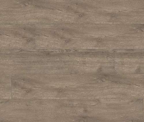 HORI® Klick Vinylboden PVC Bodenbelag I Wasserfest I viele Dekore wählbar I Eiche Royal Rennes I 10 Dielen im Paket = 2,20 m²