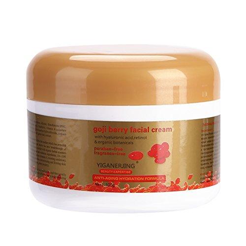 Crème anti-âge , Tranditional Goji Berry Anti-Age Blanchissant Hydratant Revitaliser Crème Antioxydante Jour/Nuit
