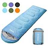 Best Sleeping Bags - RYONGII Cool Weather Sleeping Bag for Adults Teens Review