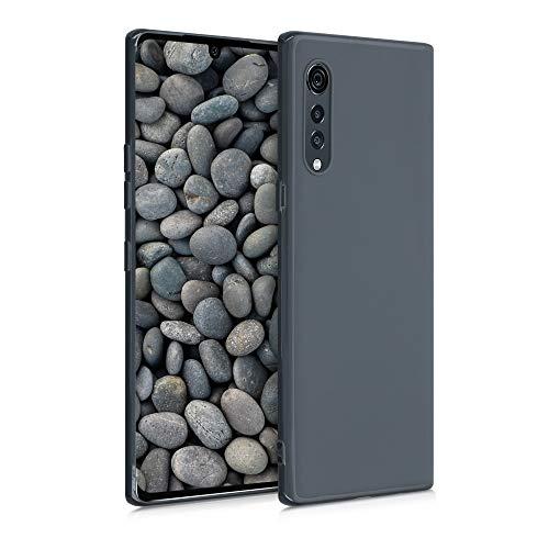 kwmobile Hülle kompatibel mit LG Velvet - Handyhülle - Handy Hülle in Slate Gray