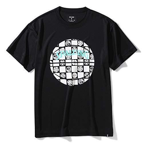 SPALDING(スポルディング) バスケットボール Tシャツ スポルディング イチマツ ボール SMT200300 ブラック XLサイズ バスケ バスケット