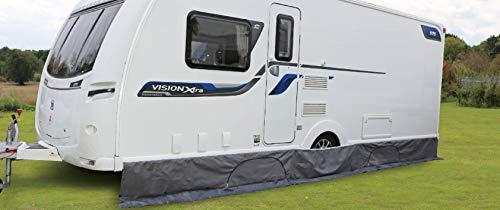 Green Yard Wohnwagen Bodenschürze Deluxe 5,8m Wohnwagenschürze Schutz Camping
