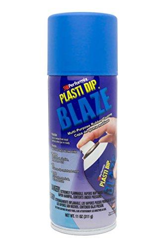 Performix PLASTI DIP® I Flüssiggummi Blau neon / Blue blaze I Spraydose 325 ml (1 Liter = 55,35 Euro) I Felgenfolie I Original USA I Synthetische Gummi-Beschichtung I Einsetzbar in vielen Bereichen I Rückstandslos wiederablösbar