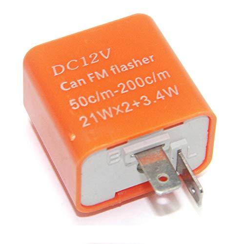 2 Pin 12v Automotriz Destellador Unidad-Max 47 W