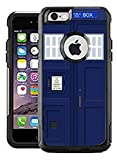 Teleskins Protective Designer Vinyl Skin Decals/Stickers Compatible with Otterbox Commuter iPhone 6 Plus/iPhone 6S Plus Case - UK Brtish English Police Telephone Box Pattern - Only Skins and Not Case