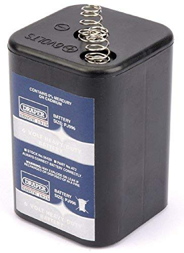 Draper 56429 H4R25/996 Batterie haute résistance 6 V