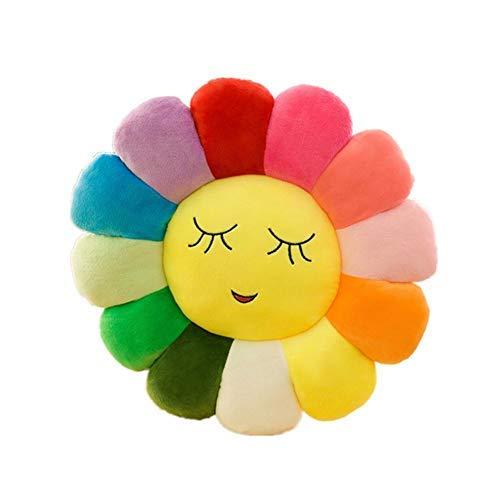 Joyfeel buy Rückenkissen, Emoji, Kissen in Blumenform, Lächeln, Kissen, Sonnenblume