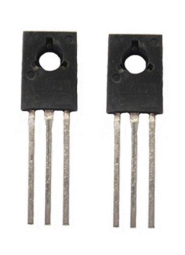 Transistor BD680a Darlington PNP 80V 4A TO126 2 Stück (0026)