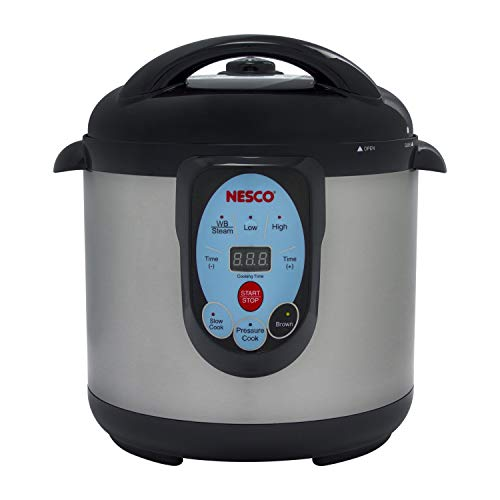 NESCO NPC-9.5 Pressure Canner Stainless-Best Electric
