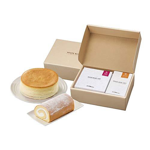 大山乳業 ロールケーキ&チーズケーキの大山ティータイムギフトセット