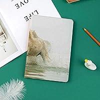 Ipad Pro 11 ケース(2018モデル) 軽量 薄型2つ折スタンド オートスリープ機能付き 全面保護 2018秋発売のiPad Pro 11に対応 スマートカバー南フランスの水のカマルグ馬古代最古の品種起源Artful写真