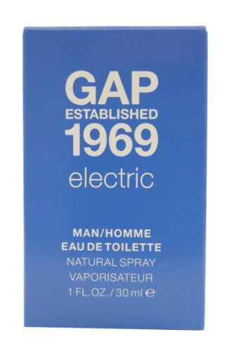 GAP Established 1969 Electric Man Eau de Toilette Spray 30 ml