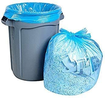 QUALITY SUPPLIES DIRECT Rapid rise BLUE 37 x 60 GALLON Sale REC GARBAGE LINER