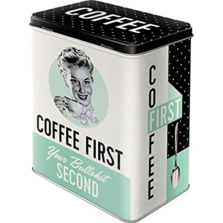 Nostalgic-Art 30123 Say it 50's - Have A Coffee, Vorratsdose 1L
