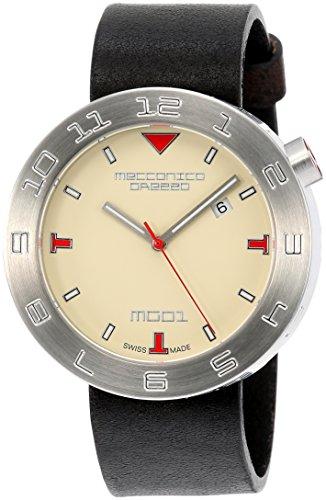 [メカニカグレッツァ] 腕時計 0144S-AVBK 正規輸入品 ブラック