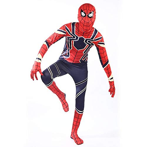 EQWR 2018 Avengers 3 Spiderman Homecoming Cosplay Disfraz Iron Spider Man Fiesta de Halloween Disfraz Mono Nio S Adulto