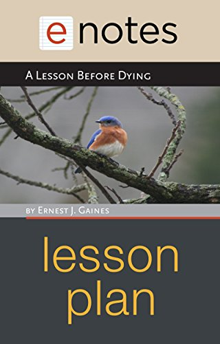 A Lesson Before Dying Lesson Plan (English Edition)