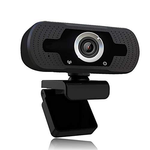 Webcam pour PC avec Microphone Stéréo, XVZ Full HD 1080p appels vidéo, Web Caméra Autofocus à Désigne Plié et Déplacé,Streaming webcamPlug et Play Webcam pour Youtube,Appel vidéo,étude,conférence