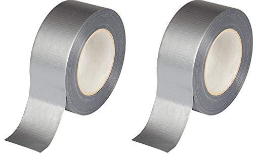 Zelt-Reparaturband, verstärktes Klebeband, 2 Stück, 10 m x 48 mm, robust, robust, langlebig, wasserdicht, selbstklebend, ohne Nägel, Klebeband, Rolle 20 m