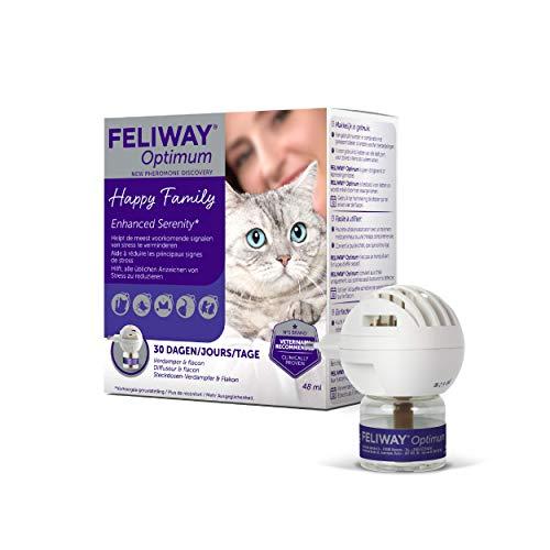 Feliway Optimum - Difusor & Botella de repuesto 48ml ⭐