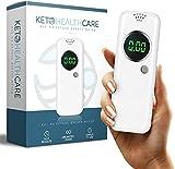KetoHC Premium Ketone Breath Meter with X6 Reusable...