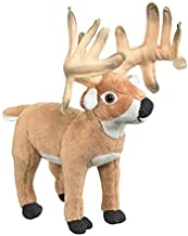 Conservation Critters White tailed Deer Buck Plush Stuffed Animal Toy
