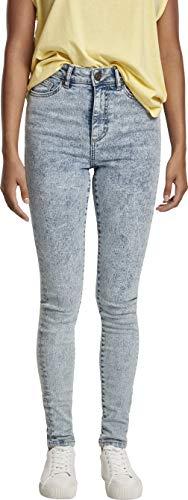 Urban Classics dames klassieke broek Ladies High Waist Skinny Jeans