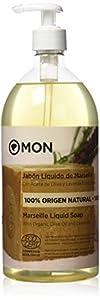 Mon Deconatur Jabón Líquido De Marsella con Aceite De Oliva Y Lavanda 1000 ml (M00200)