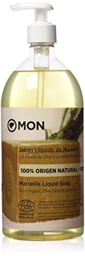 Mon Deconatur Jabón Líquido De Marsella Con Aceite De Oliva Y Lavanda 1000 ml