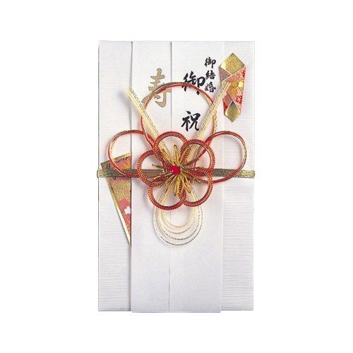 マルアイ 祝儀袋 結婚式 デザイン 和風 中金 梅 寿 5枚 キ-403×5P