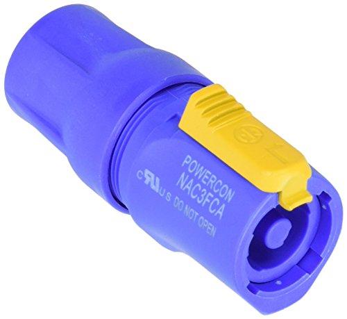 Neutrik NAC3FCA - Conector powerCON macho, color azul