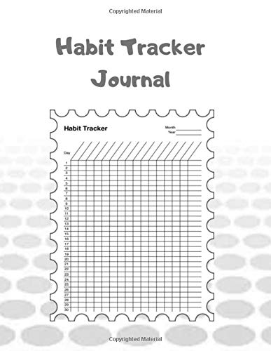 Habit Tracker Journal