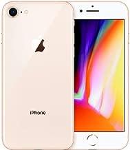Apple iPhone 8, GSM Unlocked, 64GB - Gold (Renewed)