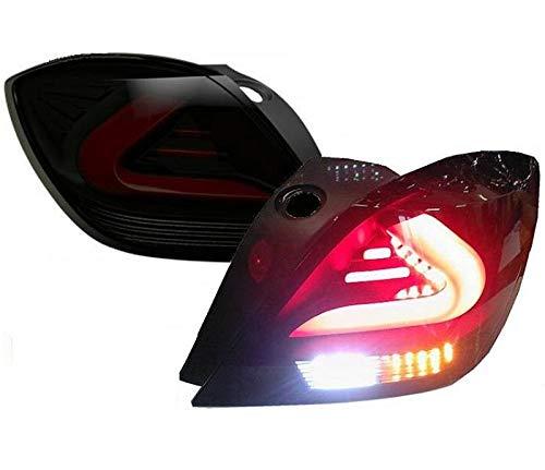 cardna Lightbar Rückleuchten 3-Türer schwarz Coupe Ro27llbs Astra H Gtc