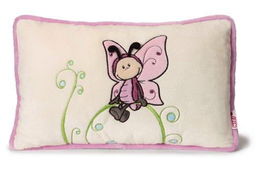 Nici 36582 - Kissen Schmetterling mit Applikation rechteckig, 43 x 25 cm