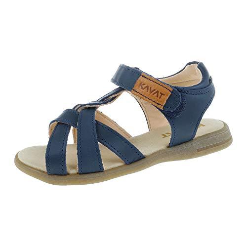 Kavat Schuhe für Mädchen Sandale Blue 4081291989 (28 EU)