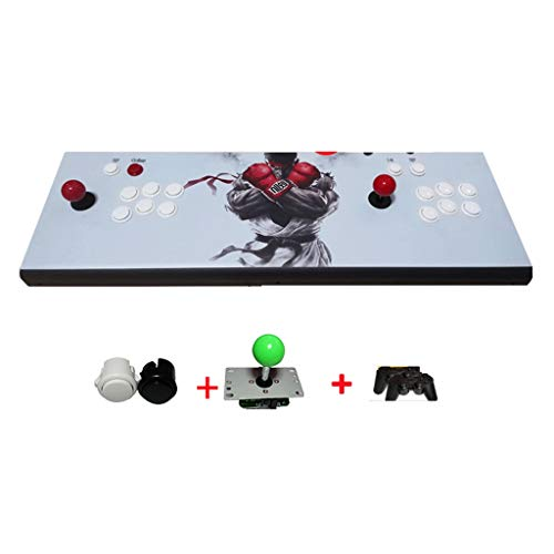Interessant Moonlight Light 3D [94 3D * 2 handvatten, 4 Cores beschikbaar om te downloaden] Moonlight Box Game Console Arcade Double Fighting Machine Rocker Nostalgische Stijl Stabiel