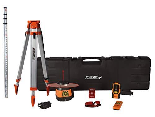 Johnson Level & Tool 99-028K Electronic Dual Slope Rotary Laser...