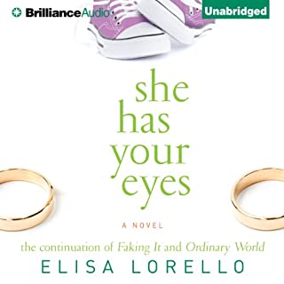 She Has Your Eyes                   By:                                                                                                                                 Elisa Lorello                               Narrated by:                                                                                                                                 Cynthia Barrett                      Length: 10 hrs and 4 mins     77 ratings     Overall 4.0