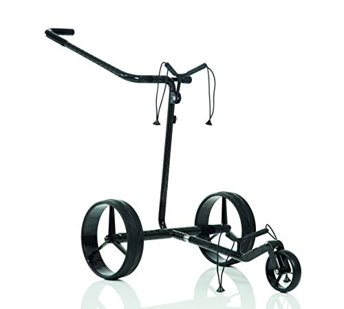 JuCad Carbon Classic Golf Trolley I Golf Caddy I Elektrisch I Elektrocaddy