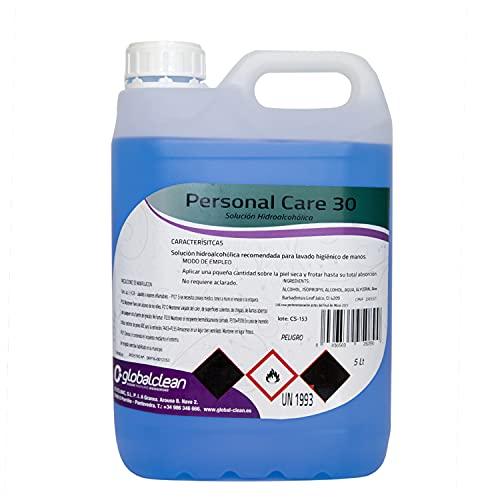 Personal Care Garrafa 5 Litros Loción Hidroalcohólica manos 70% Alcohol Garantizado Formato Ahorro 5000ml Solución Líquida Ideal Pulverizadores 5000 ml