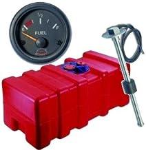 wellenshop Benzintank 12 Liter 2m Bezinschlauch mit Pumpball Pumpbalg